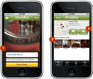 mopho1 300x257 Top 7 Location Based Apps to Use When Foursquare is Down