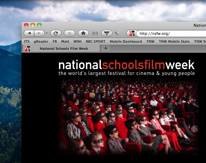 National Schools Film Week sports seriously NSFW domain