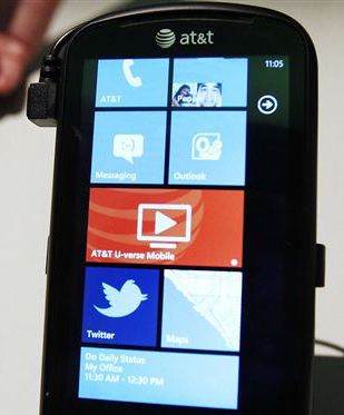 phone 1 The new Myspace looks like Windows Phone 7