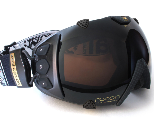 Recon Puts GPS in Your Ski Goggles