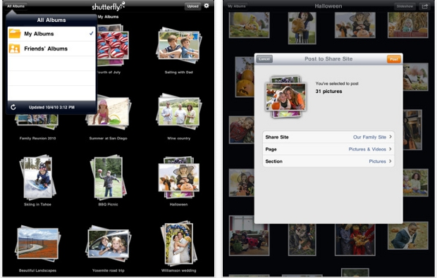 shutterfly Shutterfly Flutters Onto The iPad