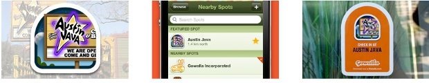 stickers Gowalla adds polished city pages to website, new options for businesses