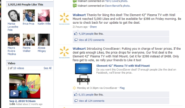 walmart1 Walmart Now Doing Group Buying On Facebook