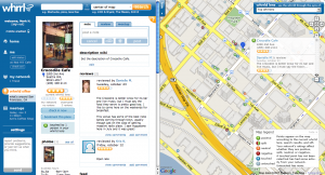 whrrl 300x162 Top 7 Location Based Apps to Use When Foursquare is Down