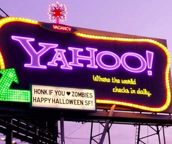 [Update: back up!] Yahoo's Homepage Goes Down, Sub-Domains Fine
