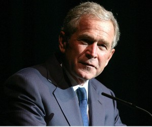 101022 bush ap 605 300x250 George W. Bush to answer live questions from Facebook HQ tomorrow