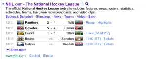 2010 11 12 21 22 29 300x122 Google Now Offering Live Results from NHL.com