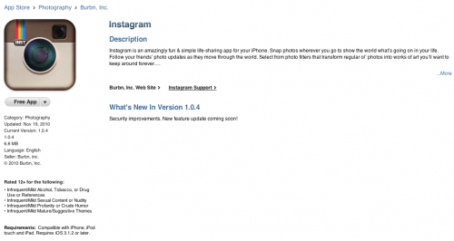 2010 11 19 20 44 10 500x266 Instagram Updated with security fixes