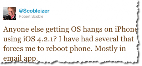 2010 11 23 22 57 04 500x232 Is your iPhone having issues with 4.2.1? Tell us!