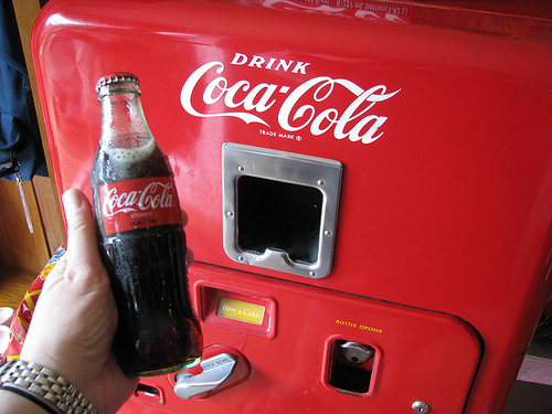 Coca Cola vending machines to support mobile payments