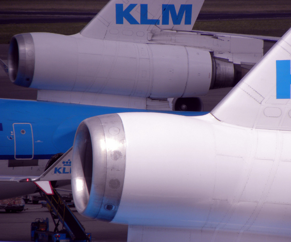 KLM gets a surprise of their own