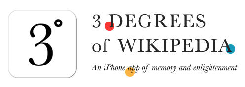 Try This: Three Degrees of Wikipedia. A super fun and social learning game for iOS devices