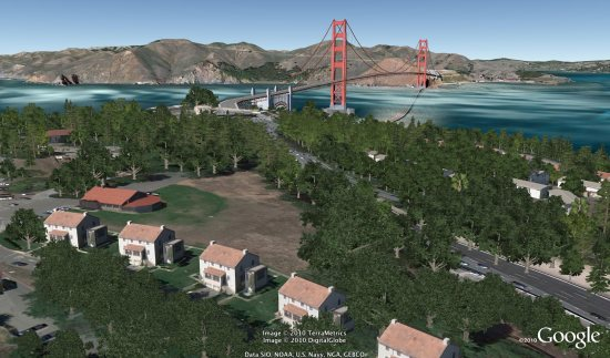 3dtrees Google Earth update adds more realism with Integrated Street View and 3D trees