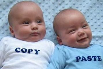 Copy/Paste – The Baby Edition