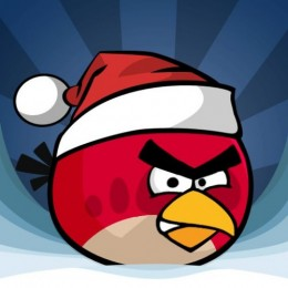 Angry Birds Christmas Red Bird 500x500 260x260 Angry Birds Christmas a free upgrade to Halloween version