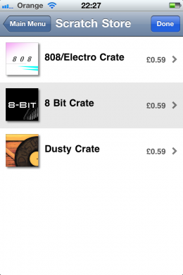 BSstore 260x390 App Store Classic: Baby Scratch. Turn your iPhone into a virtual turntable