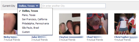 Find Friends Browser City Drop Down Facebook Reportedly Creating a Find Your Friends Browser