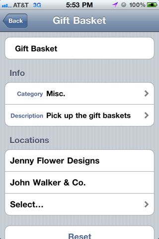GeoReminder2 TryThis: GeoReminder. Location based reminders with an iPhone