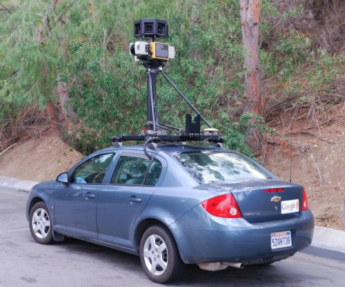 Google Street View Car in Calabasas 500x416 Report: FCC also investigating Google over WiFi snooping