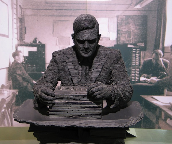 IMG 3874 Google donates $100,000 to Bletchley Park to save Turing Papers in Auction
