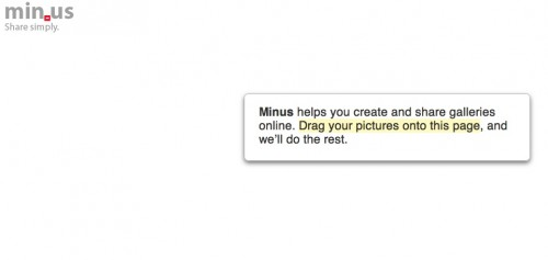 Minus1 500x237 Try This: Minus. Wonderfully minimalist drag and drop photo sharing