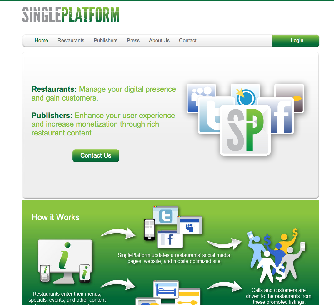 Picture 281 SinglePlatform Sets the Table for Bringing Restaurants Online