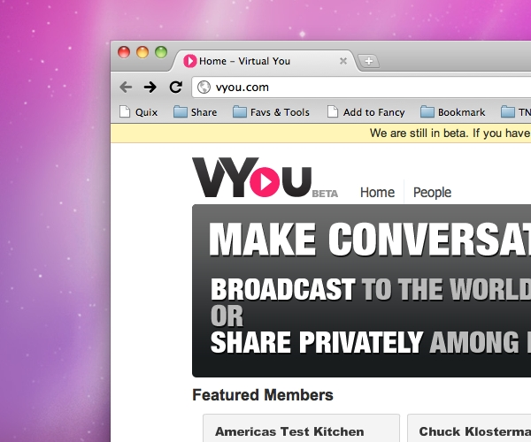 Try This: VYou, a Q&A style video platform