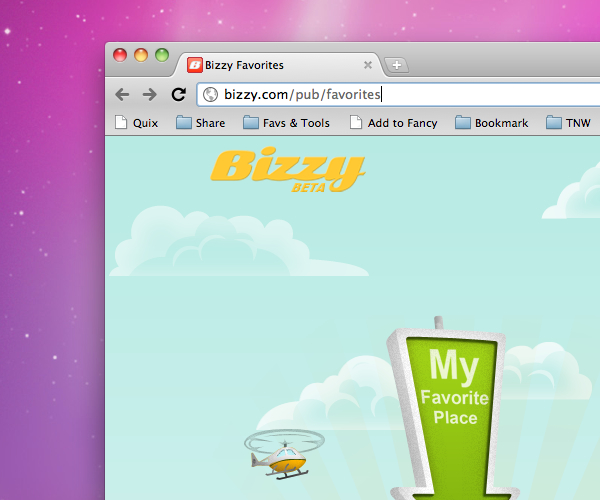 Just launched: Bizzy. A personalized local business recommendation engine.
