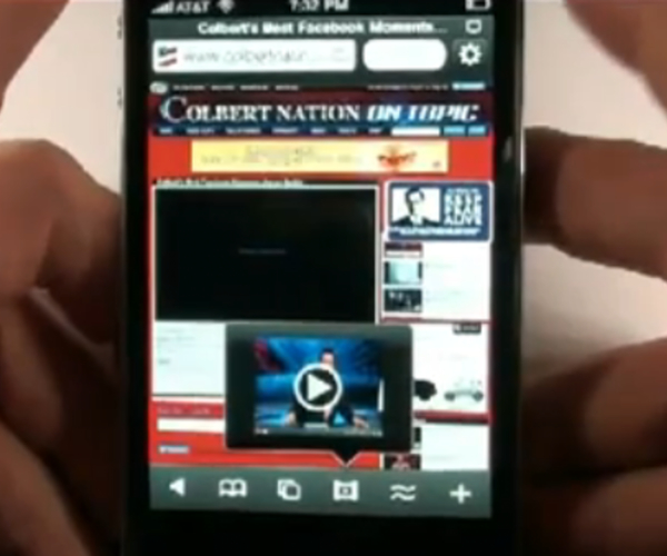 Browser that lets you play flash videos on the iPhone approved by Apple