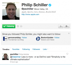 Picture 455 e1290482847843 Phil Schiller, Apples Senior VP for Worldwide Product Marketing verified on Twitter