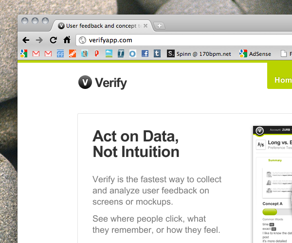 Try This: Verify. Find out what people click, what they remember and more.