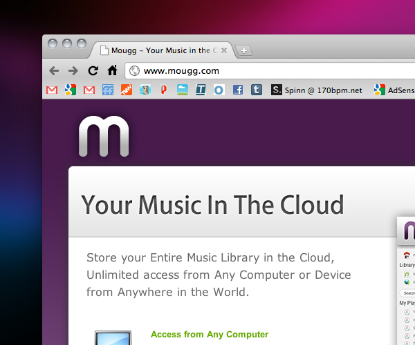 Mougg: Another great option for streaming your music library