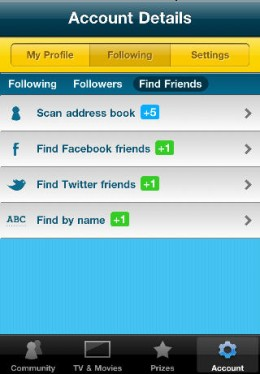 ScreenTribeAccount 260x374 Checkout this check in app. ScreenTribe. TV and film check ins with a Netflix and charitable twist