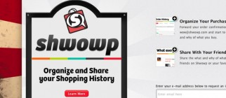 Shwowp — Do more with your shopping history