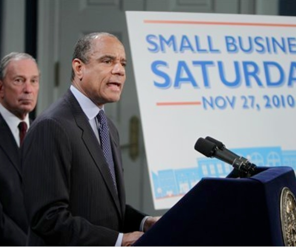 "Today is the first official ""Small Business Saturday"""
