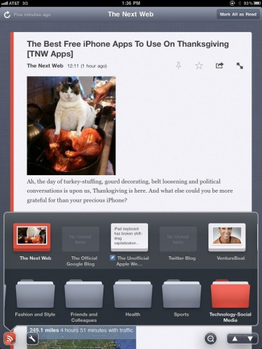 TheFeedforiPad1 375x500 Try This: The Feed. Gorgeous new iPad news reader