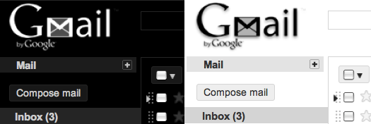 blackwhite Gmail Gets 5 New Themes