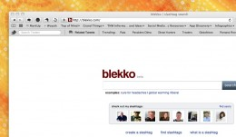 blekkohome 260x151 The TNW Review: blekko   Is this finally a Google killer?