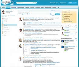 chatter2 screenshot 0910 260x221 More Social, Freemium Chatter Coming from Salesforce.com