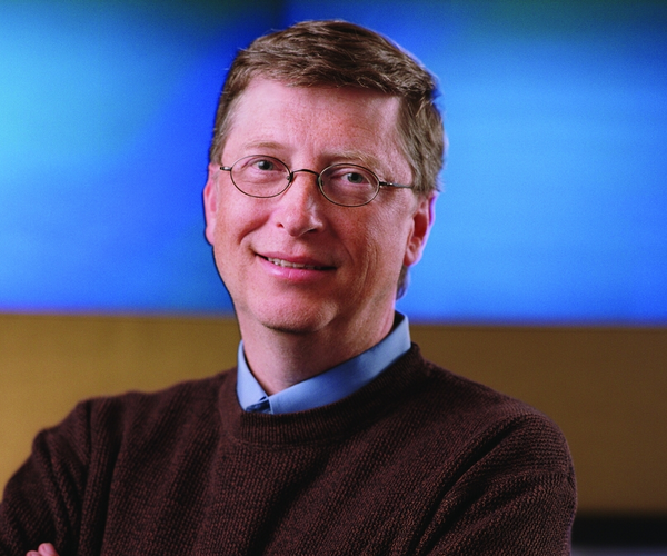 Bill Gates makes the jump to Windows Phone 7