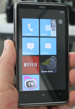 htchd7 Windows Phone 7 owners reportedly experiencing Wi Fi issues