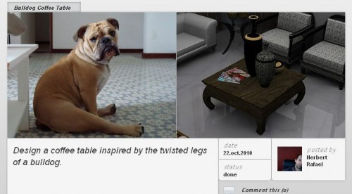 ideeeastablebulldog 500x276 ideeeas. Share your idea with two images and one Tweet