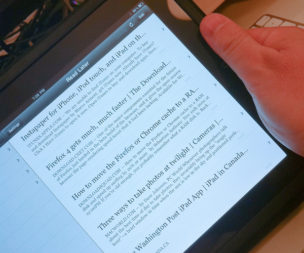 Instapaper for iOS Gets a Big Update and a Speed Boost