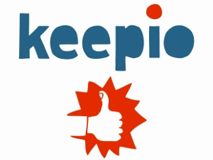 keepio logo Keepio takes a fresh, social approach to selling your stuff