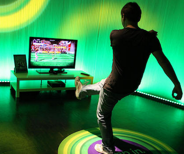 If you didn't know, you can video chat with your Kinect