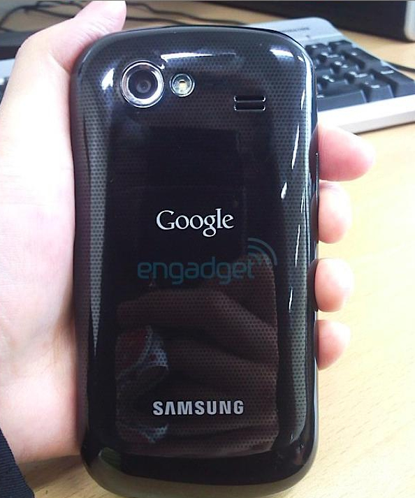nex221 Googles CEO carries around a top secret phone   is it the Nexus S?