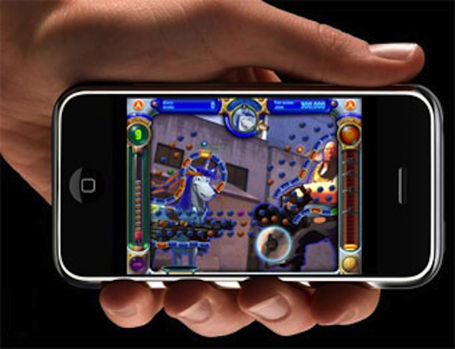 App Store Classic: Peggle. Firing shots to bouncing glory