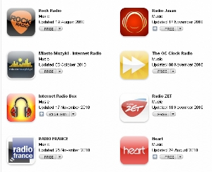 radio apps1 Sorry Apple, radio apps really aren't the same as fart apps [Updated]