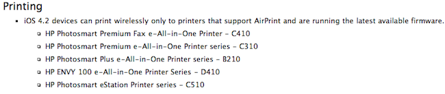 removed 1 Rumor: AirPrint Support Dropped from Macs and PCs