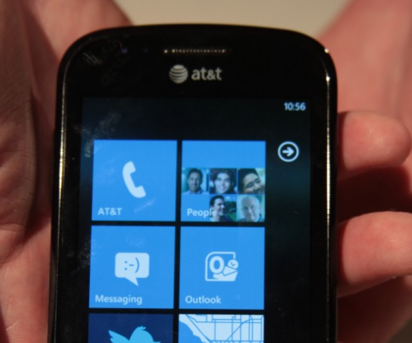 Is it a hit? The Samsung Focus, a Windows Phone 7 device, is sold out on Amazon